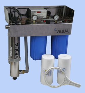 The Viqua Pro Silver UV System